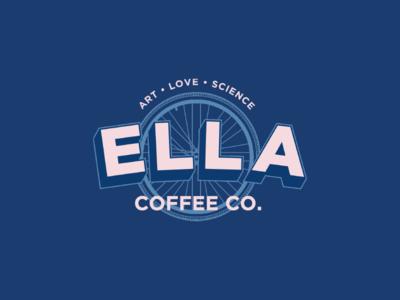 Ella Coffee Company branding