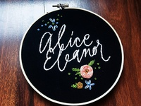 Alice Embroidery