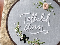 Tallulah Embroidery
