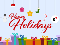 Happy Holidays From Klipfolio