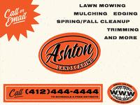 Ashton Landscaping - Unused Concept