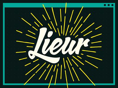 "Lieur means ""dizzy"" in Sundanese"