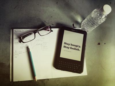 Back to sketchbook (God, I'm so bored!) photo photoshop brainstorming workroom kindle glasses