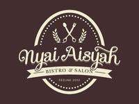Nyai Aisyah's Retro Logo