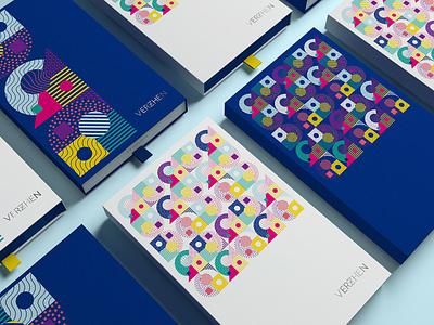 Brand creation for Verzhen icon logo typography illustration design branding