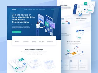 Kobil - Website - Omnicreativora bank transaction identity secure dashboad banking app company banking finance website