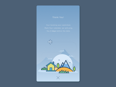 Greeting Screen onboarding book backpacker rent home airbnb illustration travel greeting
