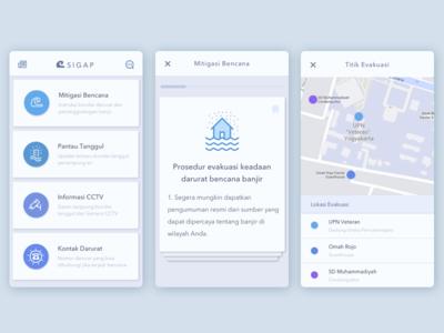 SIGAP, App for Disaster Prepareness
