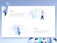 Illustration for Education Platform Website 2