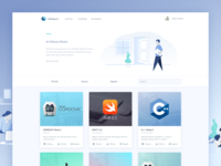 Education Platform Website - Learning Class