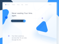 Project Management Landing Page