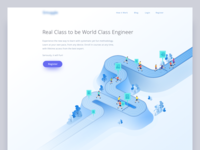 Online Programming Course Landing Page