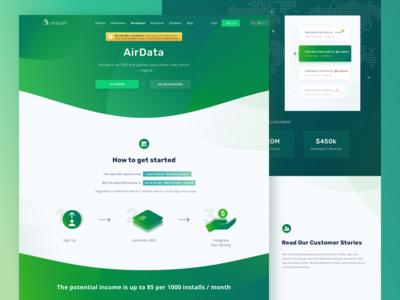 Airpush - Data, Mobile Marketing Website