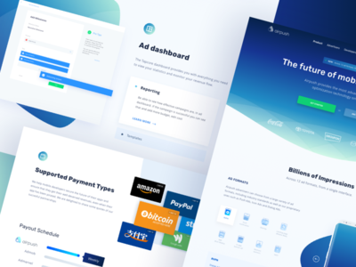 Airpush Mobile Ads - Landing Page