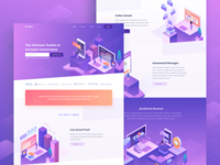 Notifia - Marketing Tools Landing Page