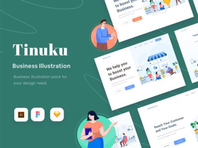 Tinuku - Business Illustration