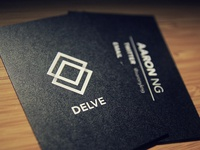 Delve Business Cards