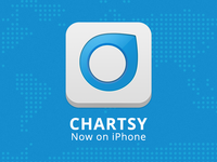 Chartsy now on iPhone