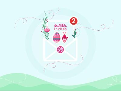 invitations invite invitations graphic dribbbleinvite draft design illustration