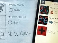 XO9 Games iOS vs Sketch