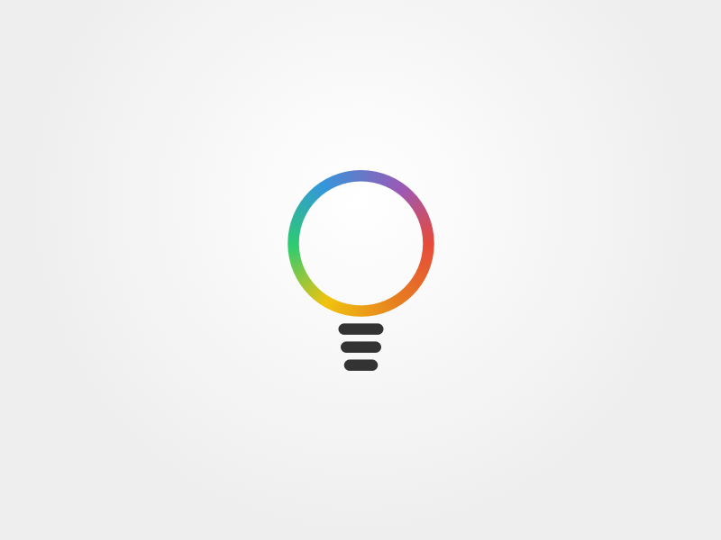bulb logo by joe blau dribbble
