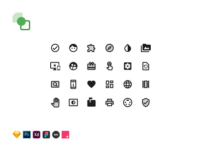Material Icons Library (Freebie) figma invisionstudio svg adobexd photoshop sketch google material free icons freebie web ux uikit