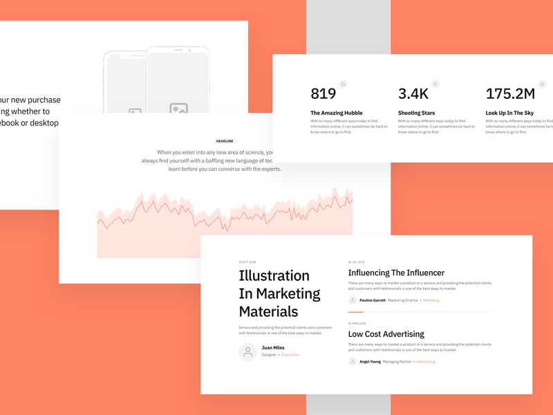 Sections Wireframe Kit adobexd post prototyping photoshop design vector flow blog ui prototype figma wireframe ux web uikit sketch
