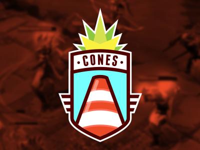 Cones Team logo dota team