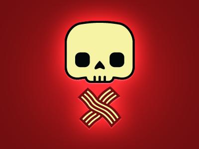 Bacon Skull bacon skull