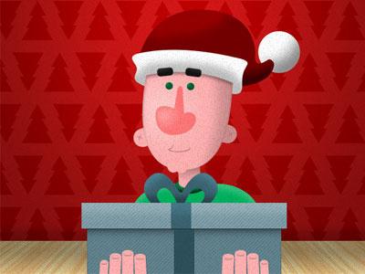 Christmas Card Illustration xmas christmas illustration