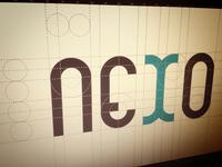 Nexo logo construction