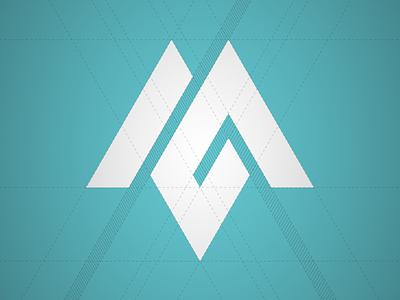Personal brand construction construction geometric logo identity marlon itaboray brand