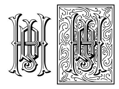 JDH monogram