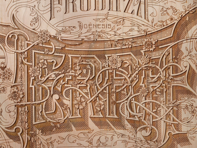 Terra Wood Etching Preview