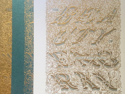 The Beauty of Engraving: The Nature of Victorian