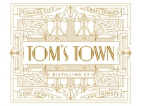 Tom's Town Distillery Co. Identity