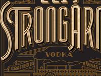 Tom's Town Distilling Co. Label