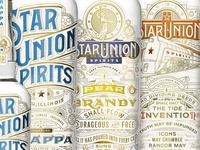 Star Union Spirits Packaging