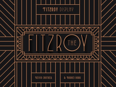 Fitzroy Display glyphs typeface fonts type typography typedesign