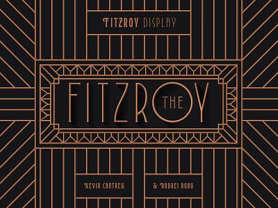 Fitzroy Display glyphs typeface fonts type typography typedesign