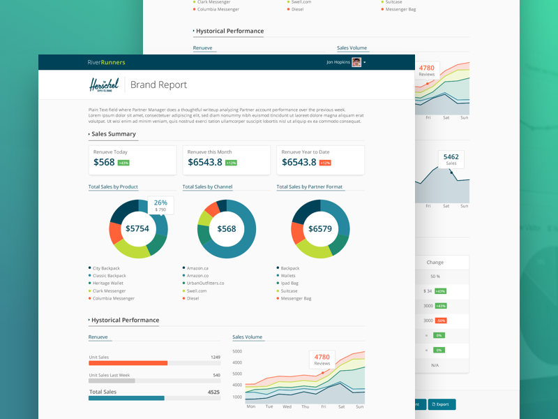 Sales Report analyticsm ui sales reports infographics chart design dashboard