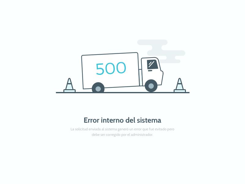 500 - Packen koombea web truck page packen outline illustration error design app 500
