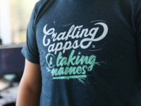 Crafting apps & taking names