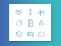 Website icons