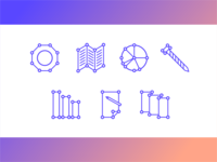 Personal branding icons