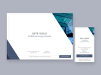 Landing page 1 for an asset manager