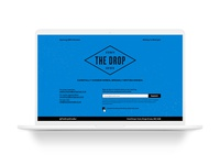 The Drop Holding Page