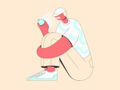 Scrolling Through Dribbble
