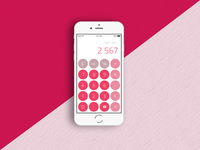 #DailyUI - 004 - Calculator