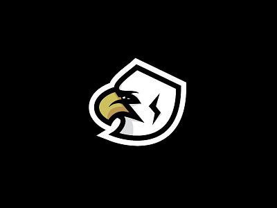 Eagle vector bird icon shield illustration logo eagle